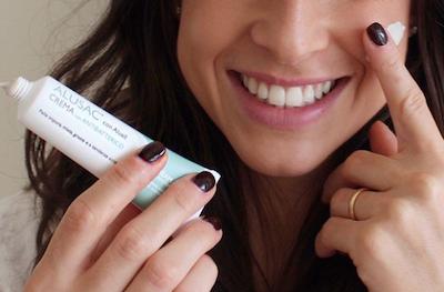 Trattamento viso gratuito con ALUSAC linea per pelle impura, mista, grassa e a tendenza acneica